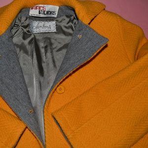 Vintage Ilie Wacs Wacs Works Wool Winter Coat